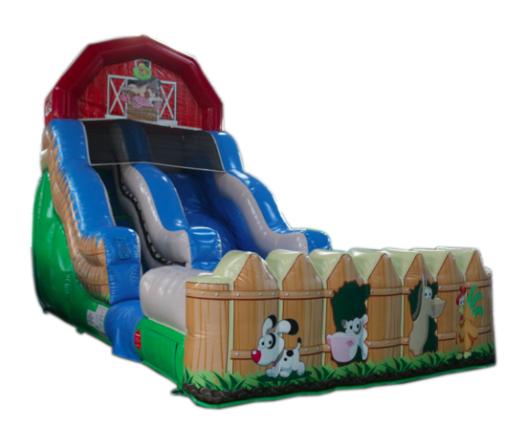 Farm Water Slide