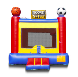 Sports Arena Bounce House Lawton Inflatables